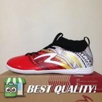 VinzoSport Sepatu Futsal Specs Heritage IN Emperor Red White 400749 O