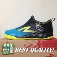 VinzoSport Sepatu Futsal Specs Metasala Musketeer Black Coctail Blue