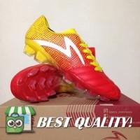 VinzoSport Sepatu Bola Specs Equinox FG Emperor Red Yellow 100794 Ori