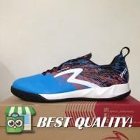 DribbleShop Sepatu Futsal Specs Metasala Warrior Rock Blue Red 400740