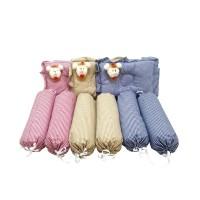 Bantal Bayi Set dengan Tas-Sarung Guling Bisa Lepas Pasang-Dakron Baik