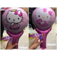 Balon Foil Pentung / Balon tongkat / balon hello kitty ulang tahun