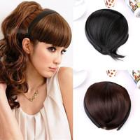 Bando Wig Poni Fashion Aksesoris Headband Stylish Rambut Wanita