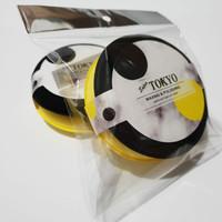Aplicator Pad 2 Pcs(Yellow&Black)Busa Poles Halus dan Padat