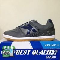 DribbleShop Sepatu Futsal Kelme Intense Dark Grey 55781-702 Original