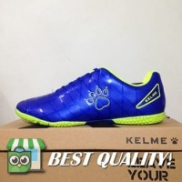 DribbleShop Sepatu Futsal Kelme Star 9 Royal Blue 5501-11 Original BN