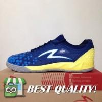 DribbleShop Sepatu Futsal Specs Metasala Knight Galaxy Blue Yellow 40