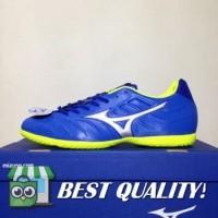 DribbleShop Sepatu Futsal Mizuno Rebula V3 IN Strong Blue P1GF188509