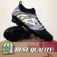 DribbleShop Sepatu Bola Specs Heritage FG Black Gold White 100797 Ori