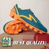 DribbleShop Sepatu Bola Specs Horus FG Tosca Orange 100515 Original B
