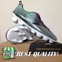 DribbleShop Sepatu Bola Mitre Motion FG Tosca Alloy Black T01010018 O