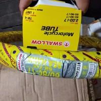 Satu paket Ban luar + dalam motor 60/80 - 17 dan 70/90 - 17 Swallow
