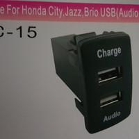 Colokan kabel usb audio charger untuk mobil honda city hrv jazz brio