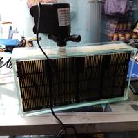 Filter tanpa kuras ukuran Jumbo bahan kaca + pompa