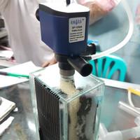 Filter aquarium ukuran kecil kaca+pompa