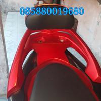 Sandaran backrest Honda pcx lokal 2018