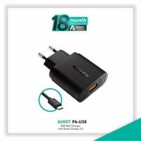 Aukey usb turbo quick charger 2.0 pa-u28 original 100% fast charging