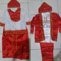Baju adat maluku anak pakaian Lk/Pr size M