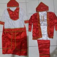 Pakaian adat maluku // baju Maluku anak Lk - Pr size S - M