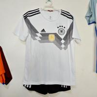 Jersey Kids baju bola Jerman Germany home 2018 Grade Ori