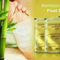 Koyo Bamboo Gold Detox Foot Patch - Premium Quality (ASLI)
