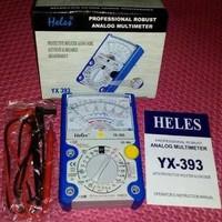 Multitester Jarum Analog Heles Yx 393 Multimeter Avometer Professional