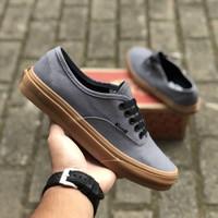 Sepatu Vans Authentic Gumsole Vintage Grey Gum BNIB Original Premium