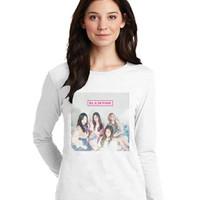 Kaos Baju Tshirt Korea Kpop BlackPink 03 Lengan Panjang