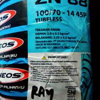 Ban Zeneos Tubeless 100/70-14 ZN88 X-Ride, Aerox 125, Xeon GT belakang