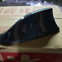Antena radio Shark / Hiu warna motif carbon mobil hrv, yaris, xpander