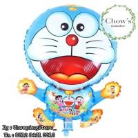 Balon Plastik Doraemon / Balon karakter Doraemon
