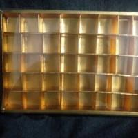 box coklat sekat 40 (8x5) / valentine / murah meriah / kotak saja