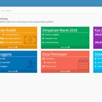Program Aplikasi Koperasi Simpan Pinjam Berbasis Web