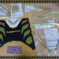 Paket Aksesoris Garnish Honda New Vario Techno 125 150 Esp Led Gold