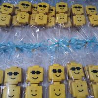 Kukis Hias, Kukis Karakter, Fancy Cookies, Hampers Lego
