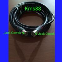 Kabel Antena TV RG6 Coaxial dengan Sambungan Jack ke Tv 5M
