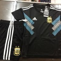 JERSEY BAJU BOLA ARGENTINA AWAY KIDS (ANAK) WORLD CUP 2018 GRADE ORI