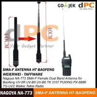 PROMO Antenna NAGOYA NA-773 SMA-F HT Baofeng - Weierwei - Taffware