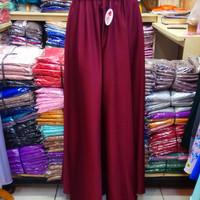 [Merah Maroon] Rok Panjang Balotelli Import Model Payung