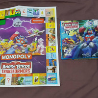 Monopoly Angry Bird Transformers 4 IN 1