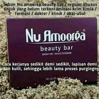 Sabun nu amoorea 50 gr isi 2 x 25 gram beauty bar