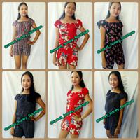 Jumpsuit Bali Maura Flower dan Etnik Baju Bali Grosir