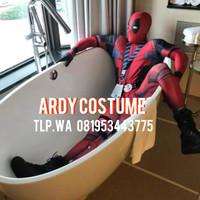 Baju costume DEAD POOL bukan ironman spiderman batman thor superman