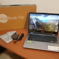 jual laptop Asus Vivobook Flip TP410UR - Grey - Touchscreen