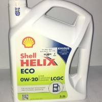 Oli Mesin Shell Helix Eco 0w - 20 3.5 lt -62767-