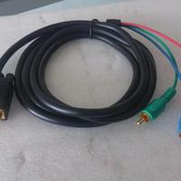 Kabel VGA To RCA Panjang 1,5 Meter