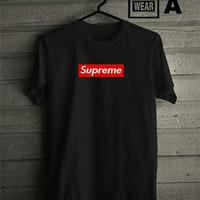 supreme shirt cutton combad grade ori