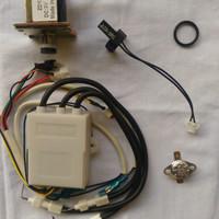 Water heater gas paket part komplit 1 low pressure