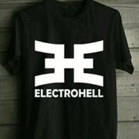 Kaos BIG SIZE Electrohell 2XL 3XL 4XL kaos tshirt baju BIG SIZE