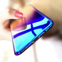 Gradient Case Oppo F3 Purple Blue Ray Aurora Hardcase Casing Slim